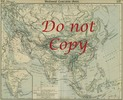 Asia Mediaeval Vintage Map