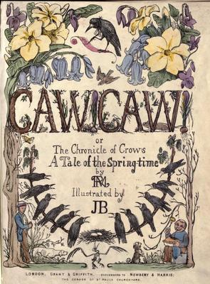 Product picture Caw caw; or, the chronicle of crows / by RM (1848)