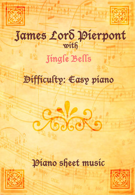 Product picture Jingle Bells Piano Sheet Music