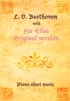 Product picture Für Elise Original version Piano Sheet Music