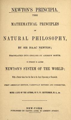 Product picture Newtons Principia : Mathematical Principles