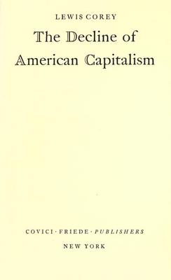 Product picture The decline of American capitalism