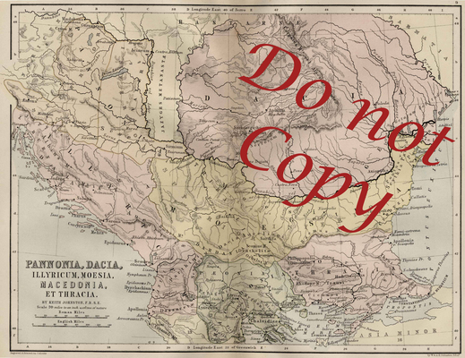 Product picture Central Europe Vintage Map