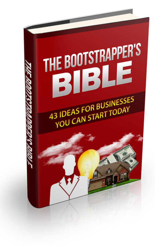 Product picture THE BOOTSTRAPPERS BIBLE
